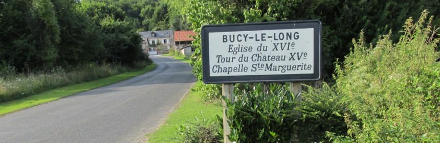 Entrée du village de Bucy-le-Long