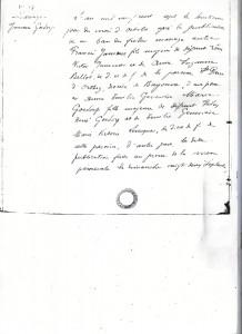 extrait de mariage de Francis Jammes